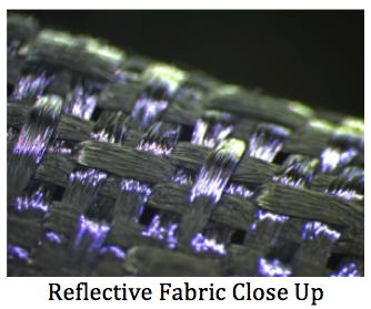 Reflective Fabric Close Up