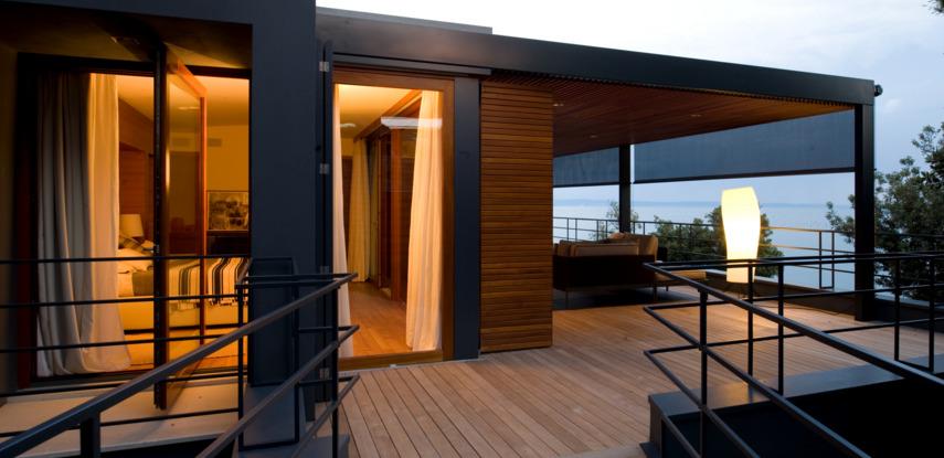 Passive House Los Angeles Solar Shades